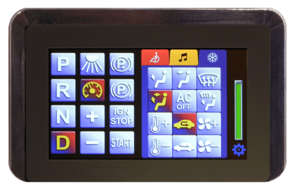 SPIDER Network Systems – Touchscreen